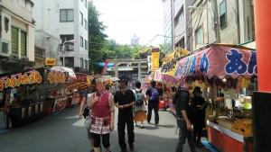 下谷神社のお祭り